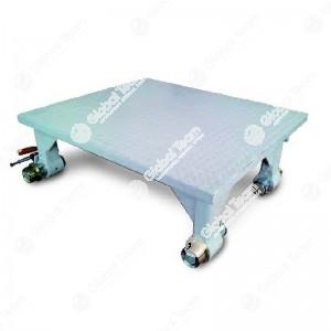 Pannello Jolly scorrevole su guide superiori per supporto sollevatori pneumoidraulici carrellati - portata max 10000 Kg/m2