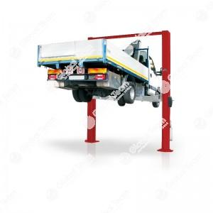 Ponte 5 ton con prolunghe h.5mt e bracci asimmetrici (trasporto e montaggio esclusi)