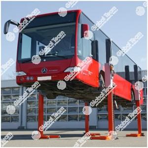 Ponte 4 colonne mobili wireless 5.5 ton a colonna (trasporto e montaggio esclusi) + accessori a richiesta - Finkbeiner