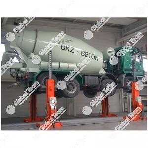 Ponte 4 colonne mobili a cavi 7.5 ton a colonna (trasporto e montaggio esclusi) - Finkbeiner