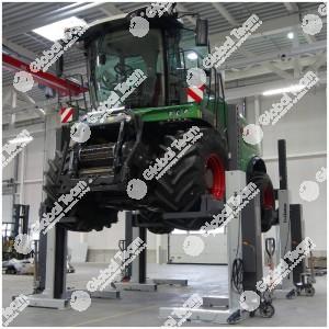 Ponte 4 colonne mobili a cavi da 5 ton a colonna per mezzi agricoli (trasporto e montaggio esclusi) - Finkbeiner