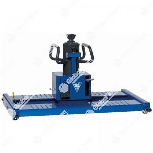 Sollevatore pneumoidraulico 3 velocita' da 15/15 ton (traslabile con freno e pedana a misura larghezza fossa) - Ac Hydraulic - 905-2190 mm