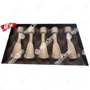 """Kit 5 chiavi esagonali aperte con attacco 1/2"""" per tubi e sensori catalizzatori veicoli industriali - misure 17,19,20,21,22 mm"""