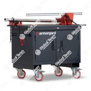 Tavolo contenitore mobile robusto per lavori gravosi officina veicoli industriali ed industria . Alta qualità