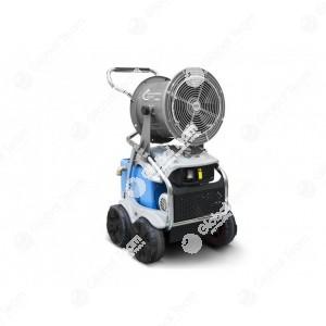 Sanipro - sanificatore a livello officina e zone lavoro certificato con serbatoio acqua/prodotto igienico