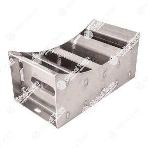 Cavalletto per ruote (1 pezzo) . Cavalletto per ruote in alluminio, per lavorare sicuro sotto i camion oppure per sollevamenti intermedi di camion piani. Molto resistente ed allo stesso tempo leggero e semplice. Tanta sicurezza a buon prezzo. Portata 9000