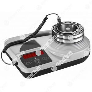 Riscaldatore professionale ad induzione per cuscinetti cambi , da diametro interno 20 a 160 mm . Da 20 a 110 gradi centigradi . Massimo diametro in 6 minuti ed a 4 regolazioni induzione .