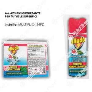 Spray igenizzante antivirale e batterico