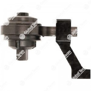 Moltiplicatore di coppia - rapporto 5,4:1 - 2700 Nm - Maschio 1'' - Femmina 3/4'' - con barra di reazione a staffa