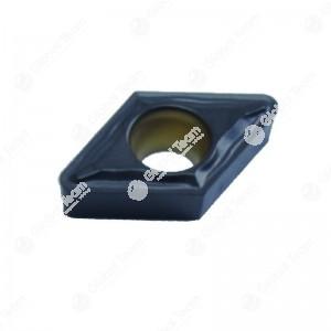 Inserto singolo romboidale piccolo superficie piana (rivestito nero) - compatibile Caorle TB 48