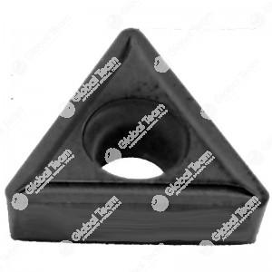 Inserto singolo triangolare grande superficie piana - widia (rivestito nero)