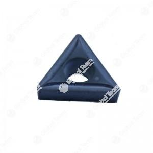 Inserto singolo triangolare piccolo superficie piana - widia (rivestito nero)