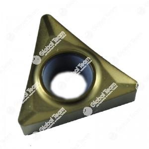 Inserto singolo triangolare grande scaricato (rivestito giallo)