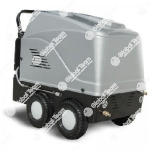 Idropulitrice 150 bar - acqua calda fino a 100°C - 900 l/h - 5,5 Hp - 4,4 kW