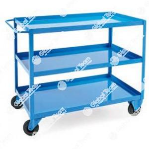 Carrello porta attrezzi portata 180 kg monoblocco - 1000X600XH830mm
