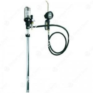 Pompa per olio + tubo contalitri digitale rapporto 3:1