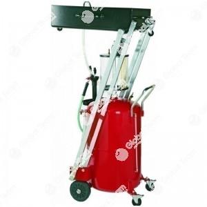 Serbatoio aspiratore e recuperatore olio esausto (carrellato)