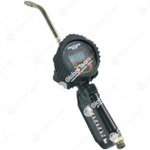 Pistola conta litri digitale per olio - attacco 1/2'' - con possibilita' di calibrazione da parte dell'utente - con antigoccia
