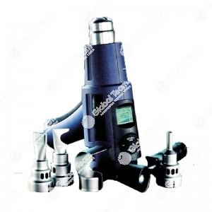 Termosoffiatore in valigetta con accessori 230V/2000W/80-650°C