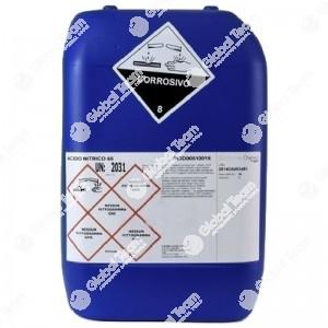 Tanica 25 litri di soda caustica liquida al 30% per vasche lavapezzi a caldo