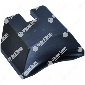 Zampetta singola (24XL) - Spessore 3 mm - Profondita' 6 mm - larghezza maggiorata 80 mm