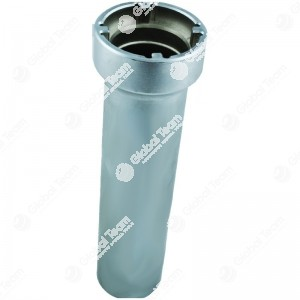Chiave per ghiere cambi IVECO Daily - n. denti interni 4 - Misura tra denti 54mm - Esterno ghiera 62,5mm - Larghezza dente 6,5mm - Profondita'  230mm
