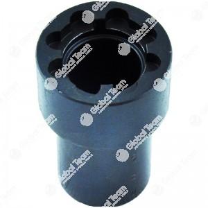 Chiave per ghiere - n. denti 4 - Misura tra denti  24mm - Esterno ghiera 28mm - Altezza 60mm