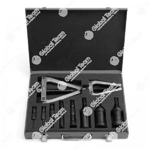 Estrattore universale in cassetta per interno cuscinetti - 8 estrattori e 2 tiranti - misure di estrazione da 7 a 70 mm