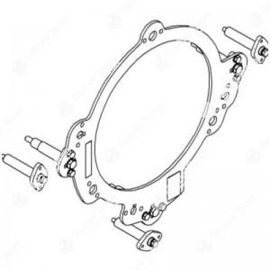 Adattatore per frizioni doppie veicoli industriali (da usare con art.CB08601) - Blitz