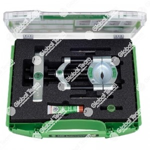 Set in valigetta con separatori con vite di pressione a serraggio rapido - apertura 12>75 mm