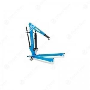 Gru idraulica per stacco e riattacco balestre - mozzi e dischi freno - portata max 250 kg - altezza 1000 mm - sollevamento Max 680 mm