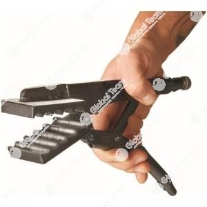 Pinza speciale per inserire raccordi aria VOSS nel tubo rilsan (MAN) diam. 7-9-10-12-14