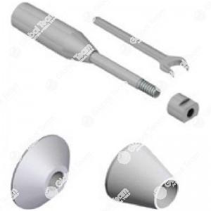 Accessori di centraggio tamburi e dischi vetture albero diam. 18mm