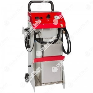 VARIO 5-20PRO spurgo freni frizioni elettrico con aspirazione olio per ABS-EDS-ESP ED SBC capacita' tanica 5-20lt - 0-3,5bar (x olio DOT4). Serie tappi art. AI06202 - Stierius