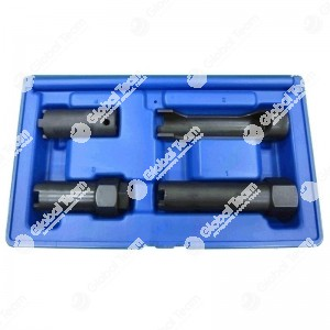 Kit chiavi per ghiera 4 denti esterni iniettori MAN-MERCEDES (04 pz)