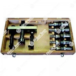 Cassetta in legno per cuscinetti volano 8con estrattore a vite) - misure pinze 12-15-17-20-23-25-27-30-33-35