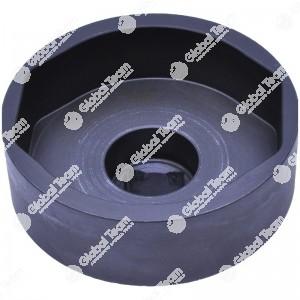 Bussola ovale per calotte assali BPW - 108 mm