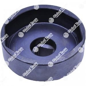 Bussola ovale per calotte assali BPW - 97mm