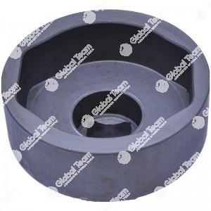 Bussola ovale per calotte assali BPW - 94 mm