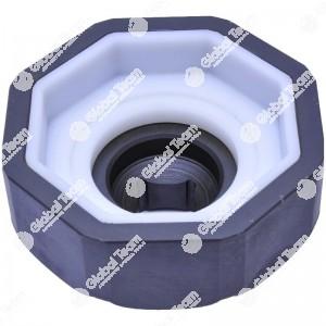 Chiave ottogonale per ghiera calotta anteriore SCANIA (ricoperta interni in teflon) - 100 mm