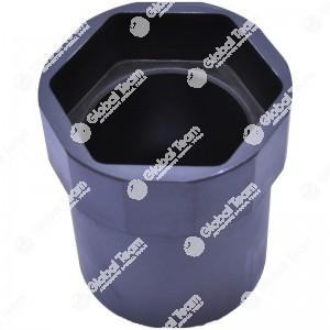 Bussola esagonale per mozzi posteriori RENAULT S180 - S150 gamma media - 77 mm
