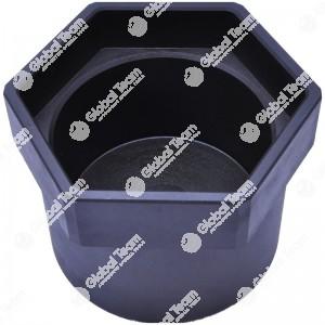 Bussola esagonale per mozzi posteriore DAF - dado interno mozzo assali SMB - Assali ROR - 120 mm