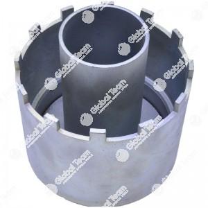 Chiave per ghiera mozzi posteriori MERCEDES Actros (cava con riduttori) - 12x115