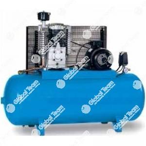 Comrpessore a pistoni su serbatoio da 500lt senza essicatore 10HP/7,5Kw - 1130lt/min - 11bar - Mark
