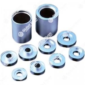 Kit boccole cilindriche per rimorchi e semirimorchi