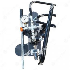 Pompa universale per spurgo 3 asse veicoli industriali (manometro 25 bar)