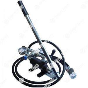 Pompa con manometro 20 bar e leva di pompaggio