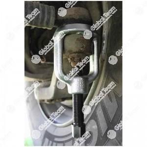 Estrattore testine sterzo KUKKO veicoli commerciali (perno di ricambio art. SZ01907) - 35 mm