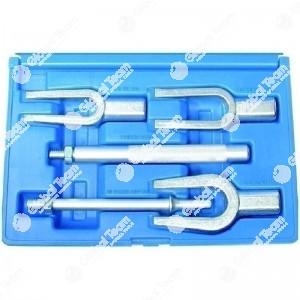 Estrattori a forcella in cassetta (5 pz) per testine sterzo - Apertura 16 - 23 - 27 mm