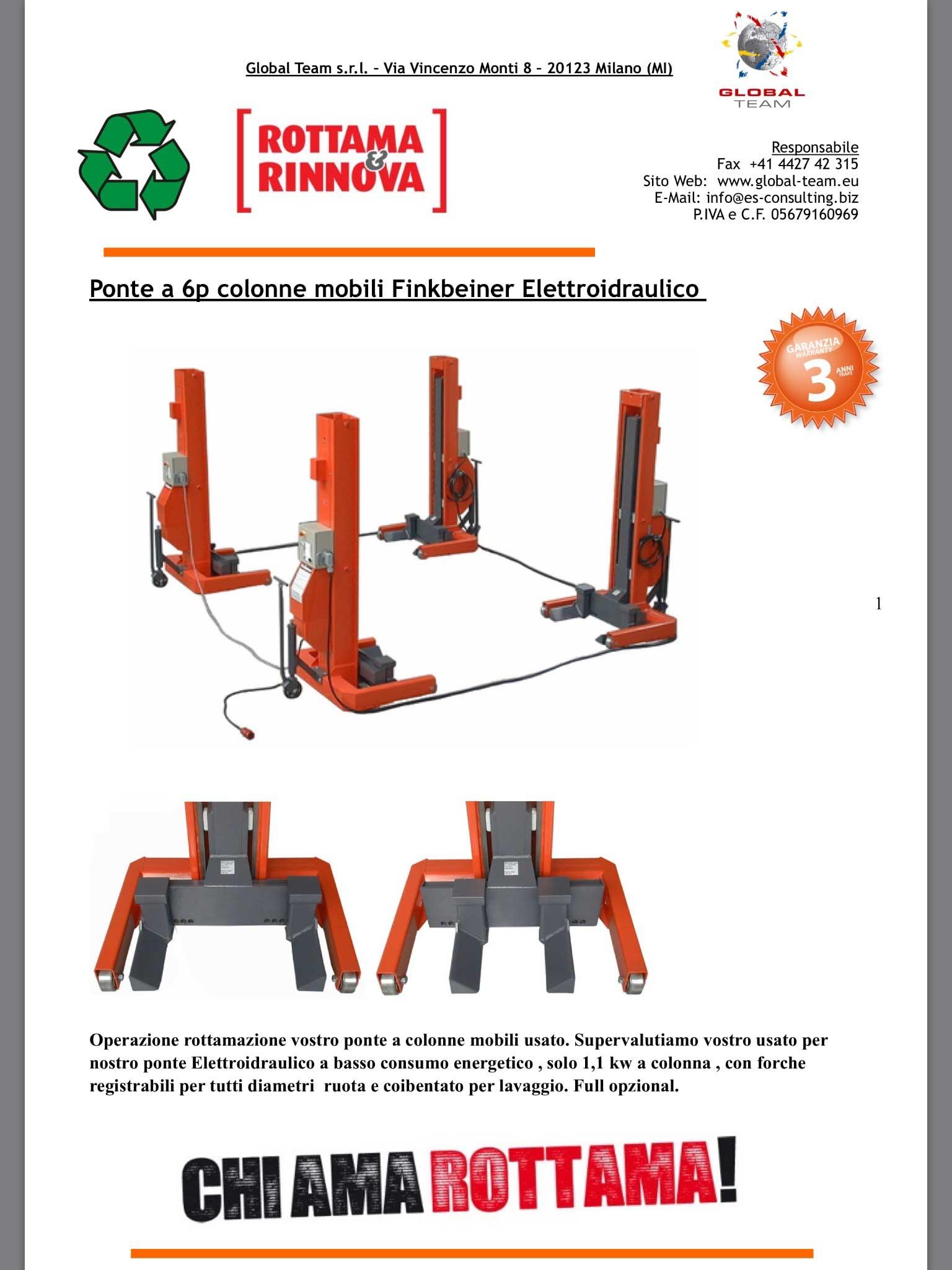 Promozione rottamazione ponte mobile idraulico a cavi top quality. Contattaci per un'offerta mirata senza impegno.